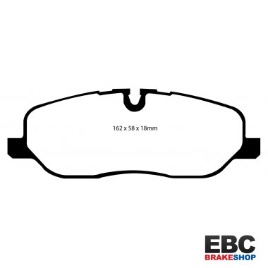 EBC Brakes Land Rover Discovery 4.4 2004-2008 Greenstuff 4x4 Pad - Front (DP61541)