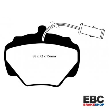 EBC Brakes Land Rover Discovery 3.9 93-98 Greenstuff 4x4 Pad - Rear (DP6663)