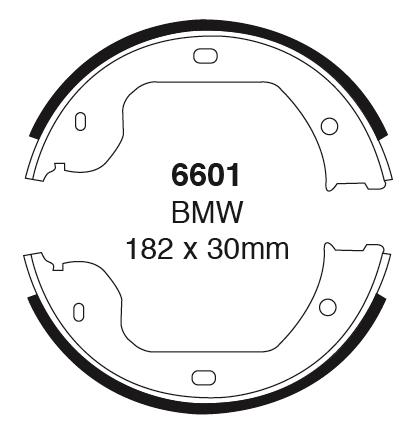 EBC Ultimax Front Brake Pads BMW 6 Series E24 3.5 286 BHP 83 /> 89 M635