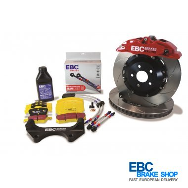 EBC Apollo Big Brake Kit for Ford Fiesta ST (Mk7) 1.6 Turbo 2012 - 2017