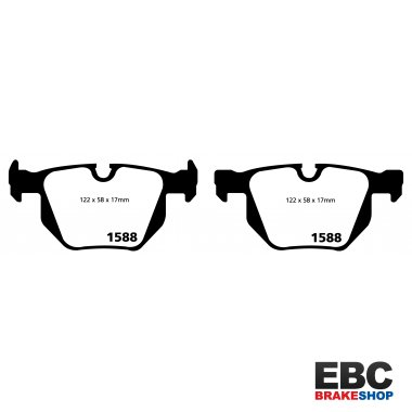EBC Ultimax Brake Pads DP1588