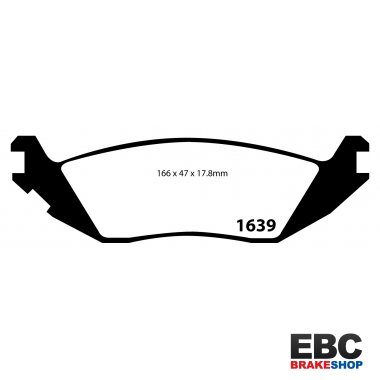 EBC Ultimax Brake Pads DP1639