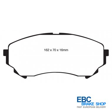 EBC Front OE//OEM Replacement Brake Discs and Ultimax Pads Kit PDKF737