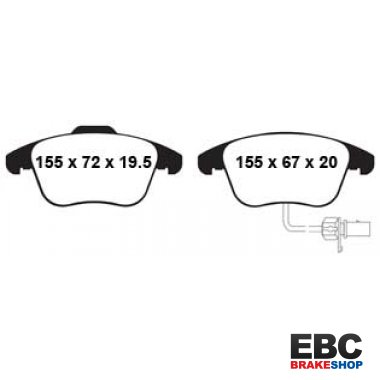 EBC Ultimax Brake Pads DP1998