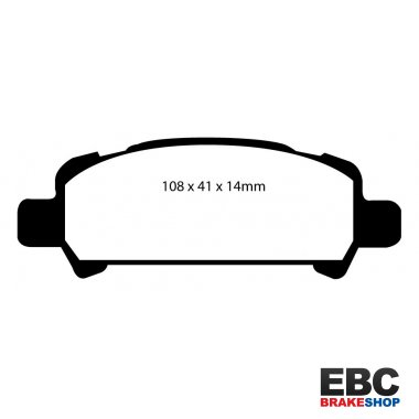 EBC Greenstuff Brake Pads DP21293