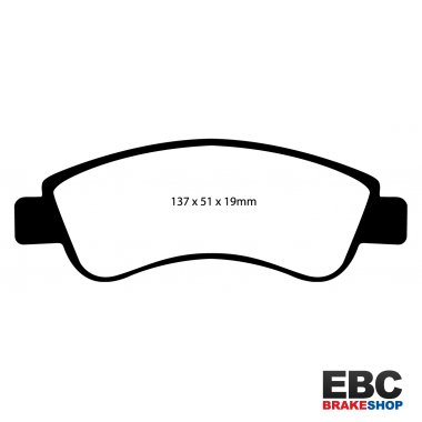 EBC Greenstuff Brake Pads DP21374