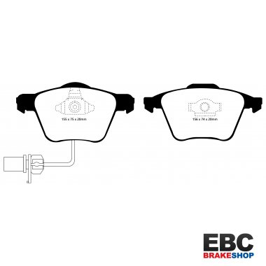 EBC Greenstuff Brake Pads DP21495