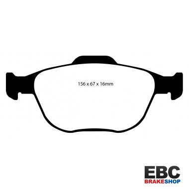 EBC Greenstuff Brake Pads DP21641