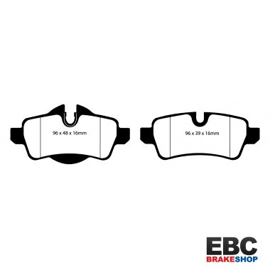 EBC Greenstuff Brake Pads DP21931