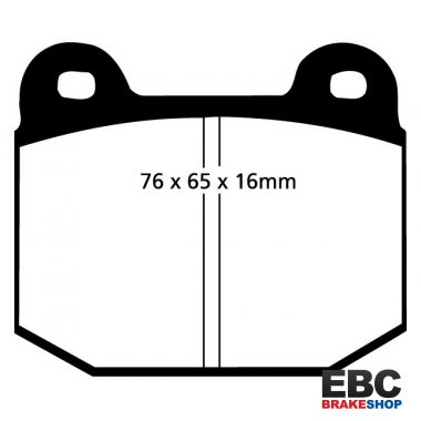 EBC Greenstuff Brake Pads DP2197