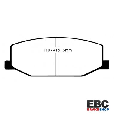 EBC Greenstuff Brake Pads DP2534