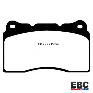 EBC Redstuff Ceramic Low Dust Brake Pads DP32127C
