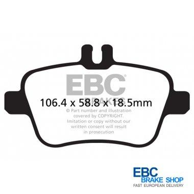 EBC Brakes DP32157C Redstuff Ceramic Brake Pads