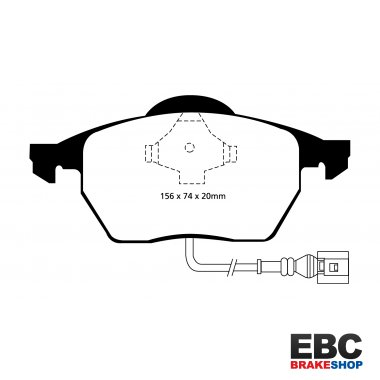 EBC Yellowstuff Brake Pads DP41330R