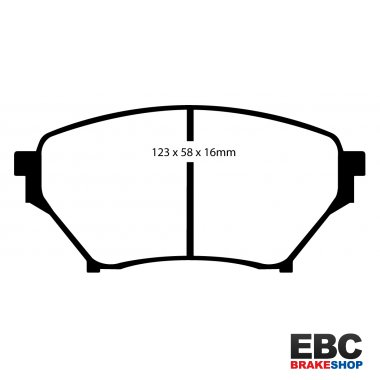 Fast Road Track Day Pad Ebc Front Yellowstuff Brake Pads Dp41452R
