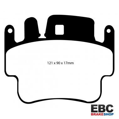 EBC Brakes DP41483R Yellowstuff Street and Track Brake Pad