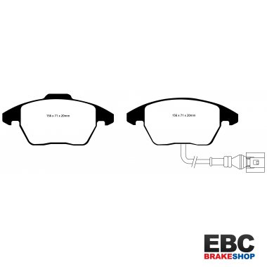 EBC Yellowstuff Brake Pads DP41517R