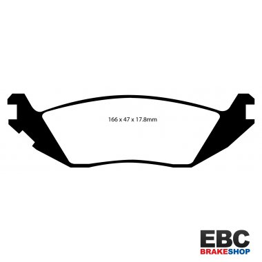EBC Yellowstuff Brake Pads DP41639R