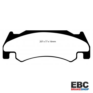 EBC Yellowstuff Brake Pads DP41739R