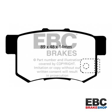 EBC Bluestuff Brake Pads DP51193NDX