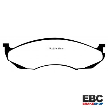 EBC Extra-Duty Greenstuff-6000 Brake Pads DP61022
