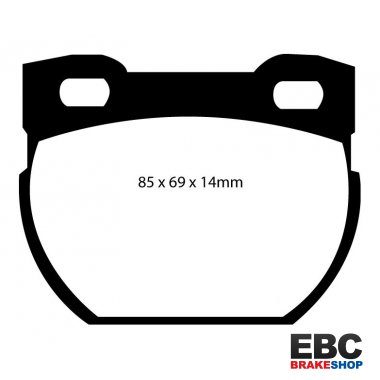 EBC Extra-Duty Greenstuff-6000 Brake Pads DP61033