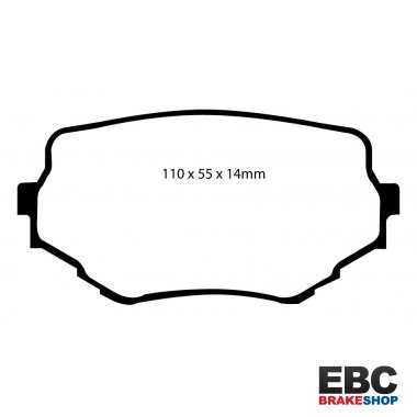 EBC Extra-Duty Greenstuff-6000 Brake Pads DP61099