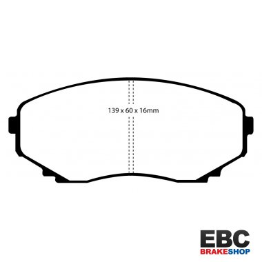 EBC Extra-Duty Greenstuff-6000 Brake Pads DP61121
