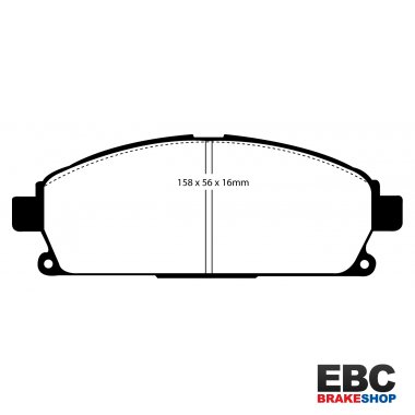 EBC Extra-Duty Greenstuff-6000 Brake Pads DP61247