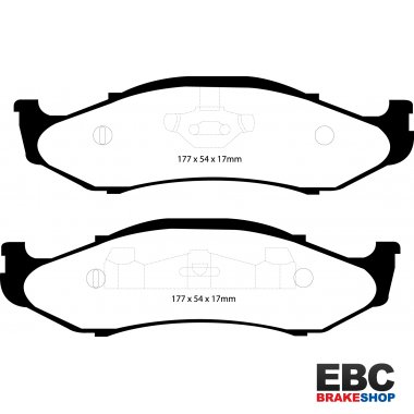 EBC Extra-Duty Greenstuff-6000 Brake Pads DP61255