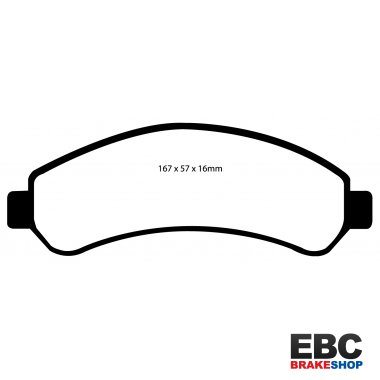 EBC Extra-Duty Greenstuff-6000 Brake Pads DP61256