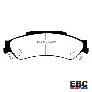 EBC Extra-Duty Greenstuff-6000 Brake Pads DP61602