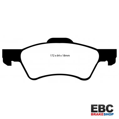 EBC Extra-Duty Greenstuff-6000 Brake Pads DP61613