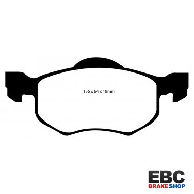 EBC Extra-Duty Greenstuff-6000 Brake Pads DP61616