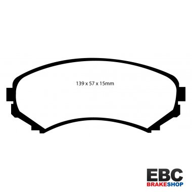 EBC Extra-Duty Greenstuff-6000 Brake Pads DP61619