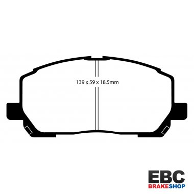EBC Extra-Duty Greenstuff-6000 Brake Pads DP61634