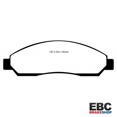 EBC Extra-Duty Greenstuff-6000 Brake Pads DP61705