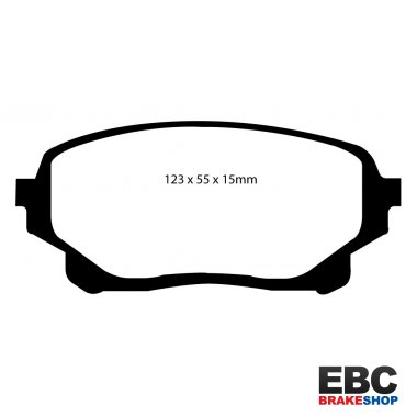 EBC Extra-Duty Greenstuff-6000 Brake Pads DP61756