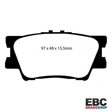 EBC Extra-Duty Greenstuff-6000 Brake Pads DP61793