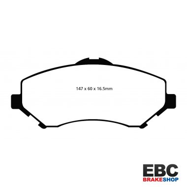 EBC Extra-Duty Greenstuff-6000 Brake Pads DP61798