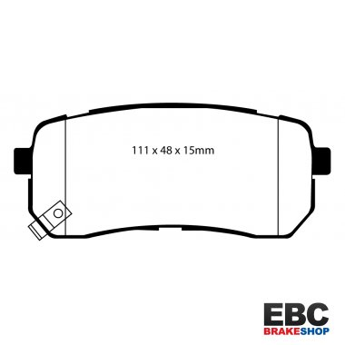 EBC Extra-Duty Greenstuff-6000 Brake Pads DP61814