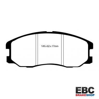 EBC Extra-Duty Greenstuff-6000 Brake Pads DP61975