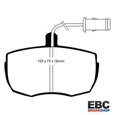 EBC Extra-Duty Greenstuff-6000 Brake Pads DP6622