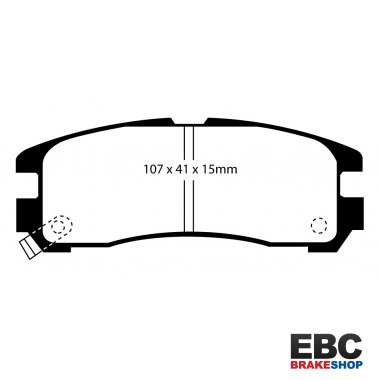EBC Extra-Duty Greenstuff-6000 Brake Pads DP6738