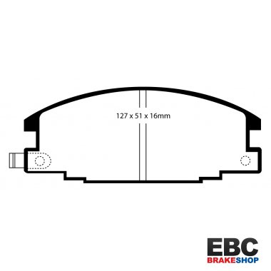 EBC Extra-Duty Greenstuff-6000 Brake Pads DP6746
