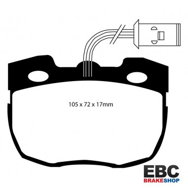 EBC Extra-Duty Greenstuff-6000 Brake Pads DP6814