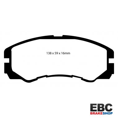 EBC Extra-Duty Greenstuff-6000 Brake Pads DP6973