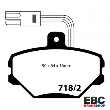 EBC Ultimax Brake Pads DP718/2