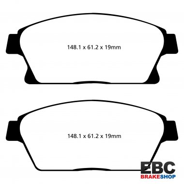 EBC Ultimax Brake Pads DPX2067