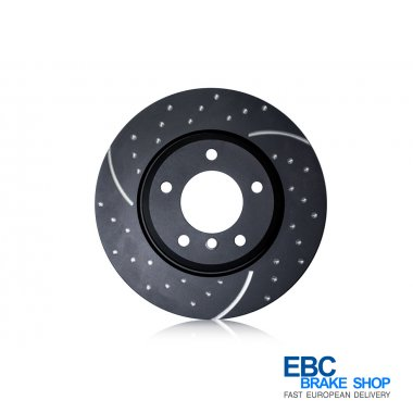 EBC Turbo Grooved Disc GD2067R